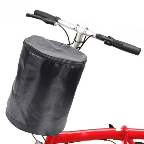 Bicycle Basket Handlebar Bucket Bag Image