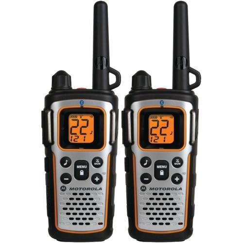 Motorola Talkabout MU350R Radio compatible BT - 184800 ft 35MILE BLK BT NIMH BATT