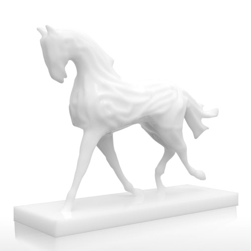 Tomfeel 3D Printed Sculpture Running Horse Originally Designed Home Decor