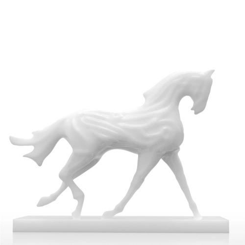 Tomfeel 3D Печатная скульптура Бегущая лошадь Первоначально Дизайн Украшение Украшение Украшение