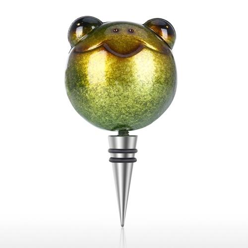 Tooarts Frosch Stopper Weinflaschen Stopper Eisen Tier Styling Luftdichtes Siegel Dekorative Eule Kork Wein Dekoration Besonderes Geschenk