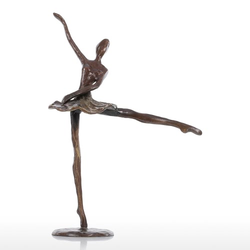 Ballet 2 Bronze Sculpture Metal Sculpture Modern Dance Home Decoration Art Gift