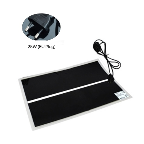 28W Pet Heating Mat Electric Heating Pad Warming Mat for Reptiles Pet Supplies