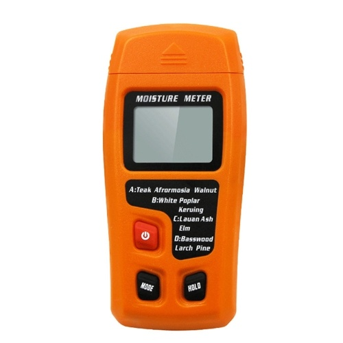 Wood Moisture Tester Moisture Meter Wood Floor Carton Moisture Meter Moisture Meter Moisture Meter Orange moisture meter-with battery фото