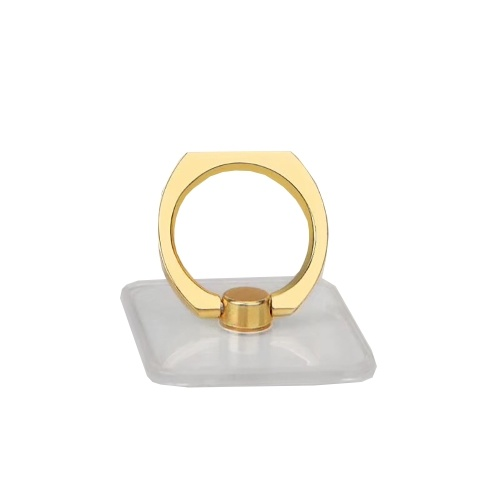 Soporte de anillo de teléfono cuadrado transparente Soporte de teléfono cuadrado