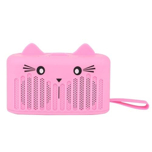 Wirelessly BT4.2 Speaker Cute Portable Mini Cartoon Subwoofer Phone Holder