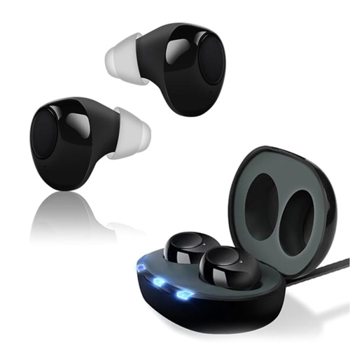 Mini Invisible CIC HearingAid Sound Amplifier Hearing Assistant Helper