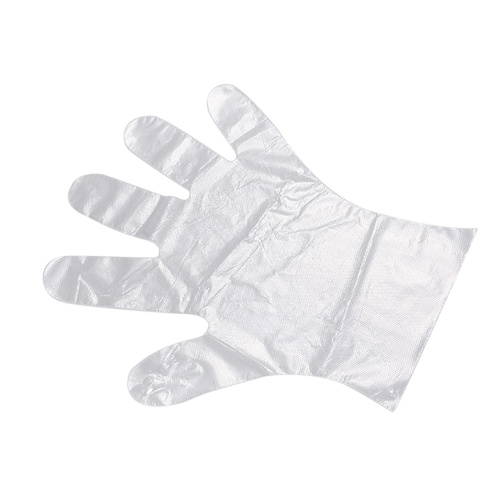 50pcs Disposable Gloves PE Gloves for Food Test Beauty Salon Dentistry Cleaning Protective Gloves