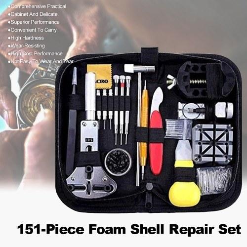 Portable Watch Repair Tool Профессиональный пакет для ремонта часов Оборудование для обслуживания часов