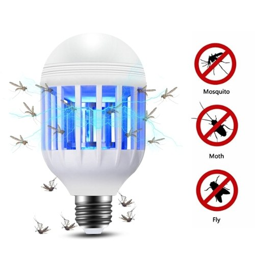 2 em 1 9W lâmpada LED
