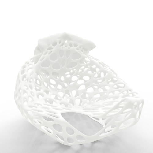 Cara humana Tomfeel búho 3D Escultura Impreso decoración del hogar del búho
