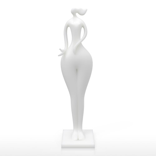 Tenir Oiseau Fille Tomfeel 3D Sculpture Imprimé Décoration élégante Modeling