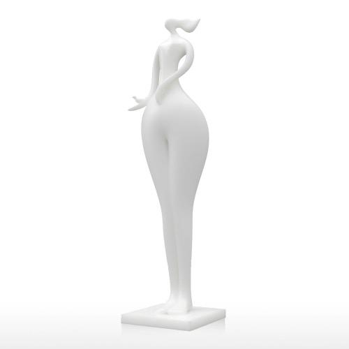 Купить Mantenga Bird Muchacha Tomfeel 3D Escultura Impreso Decoración Del Hogar De Modelado Elegante