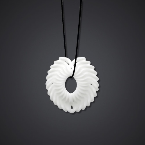 Flower Blossom Pendant Tomfeel 3D Printed Jewelry Original Design Unique Model