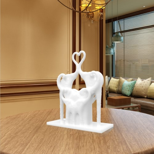 Tomfeel  Elephant's Love 3D Printed Sculpture Originally Designed Home Decoration Furnishing Ornament