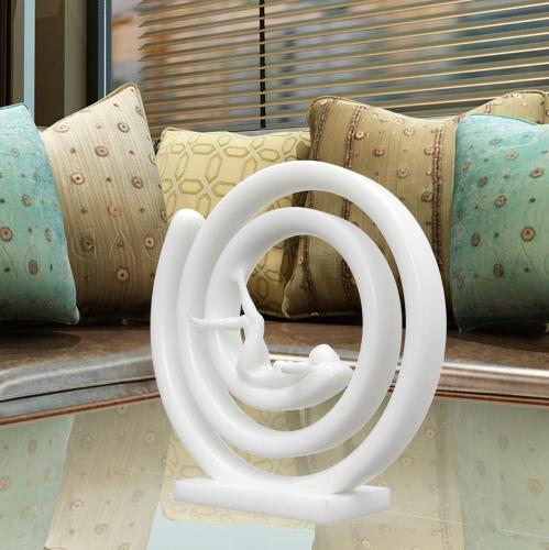 スリープレスTomfeel 3Dデザイン人体女性置物3Dプリント彫刻人間の彫刻現代彫刻オリジナルデザインホームデコレーション家具装飾品