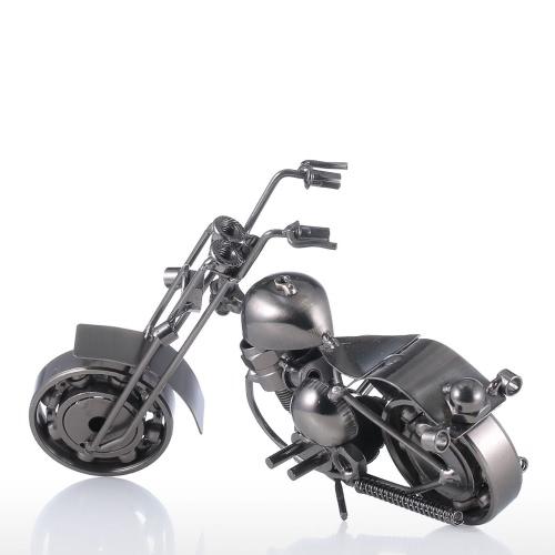 Iron Art Мотоцикл Tooarts Домашнее украшение Ремесленная Металл скульптуры Современная скульптура Ремесла Картины Подарок