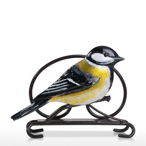 Black Head Bird Porte-mouchoirs en papier Créative Bird Serviette Porte-mouchoirs en papier Feuille de papier Étui à serviettes Serviette en papier Hôtel Serviette Serviette Home Shelf Cuisine