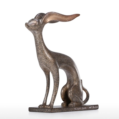 Estatua animal de aluminio Tomfeel Escultura animal mitológica Escultura de arte de mesa contemporánea