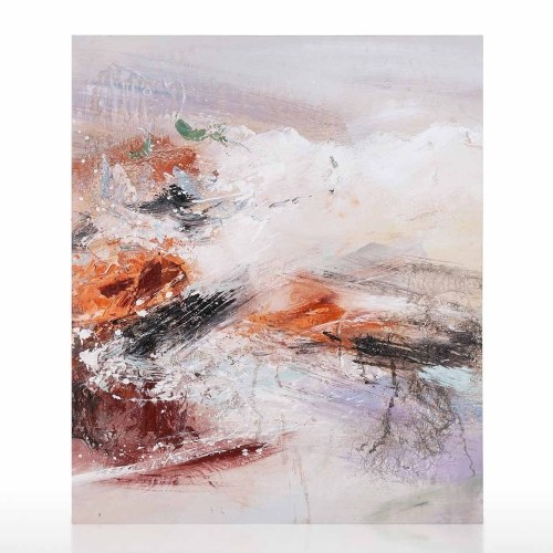 Gobi Landscape Oil Painting on Canvas Hand Painted Modern Contemporary Artwork