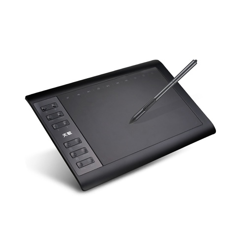 G10 10x6 Inch Graphic Drawing Tablet 8192 Levels Digital Tablet  Passive Pen for Laptop Tablet Mobile Phone