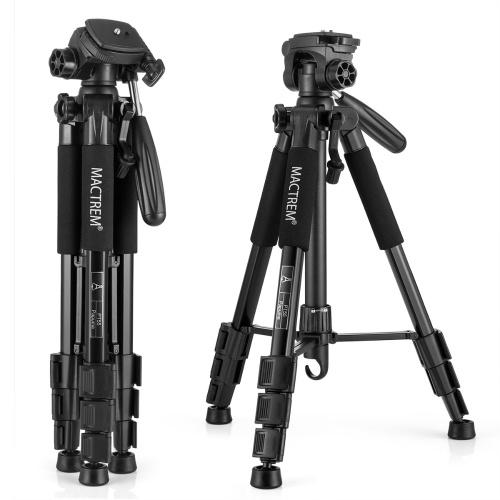 Trépied de photographie portable Mactrem PT55