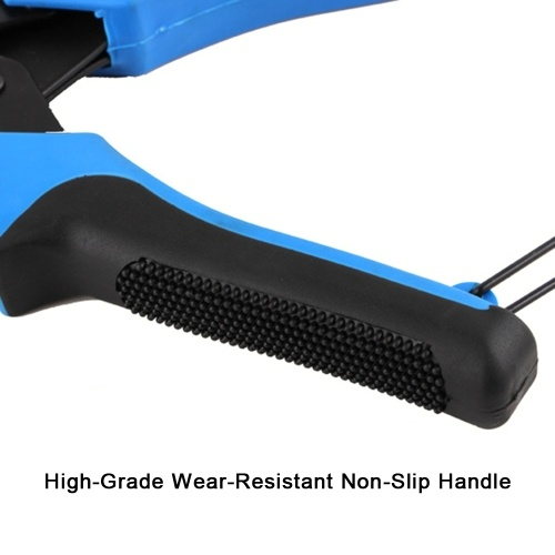 Portable Durable Multi-Function Trouser Belt Punch Manual Labor-Saving Full Round Hole Punching Forceps