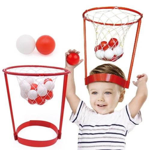 Kreativer Spielzeug-Plastikneigungs-Basketball-Kopf-Basketball - Kind wechselwirkender Spielwaren-Hut