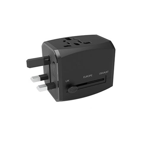Универсальный переходник для дорожного зарядного устройства 100-250 В Универсальное настенное зарядное устройство 3 порта USB Разъем-переходник