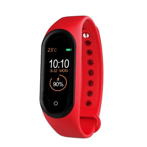 M4 New Smart Bracelet Life Водонепроницаемое зарядное устройство - красный
