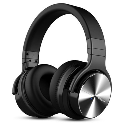 Meidong E7pro Active Noise Cancelling Headphones Heavy Bass Sports Gaming Headset Wireless Bluetooth Headset Headset Male black