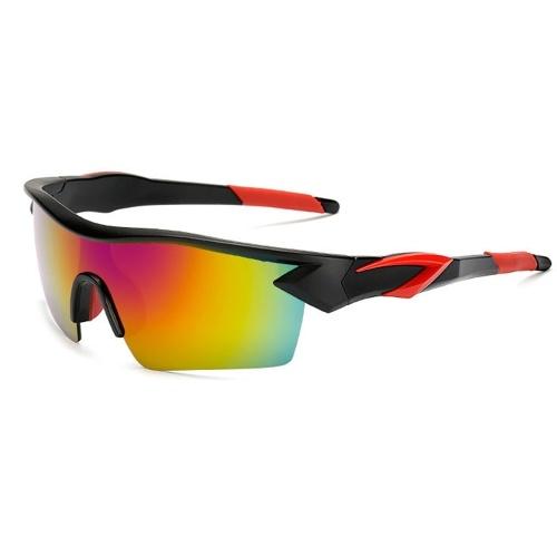 Yusha new outdoor men and women explosion-proof reflective sunglasses фото