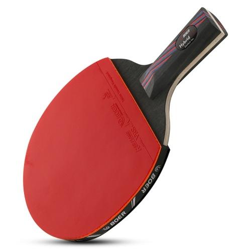 1 PCS Evolution Raquete de tênis de mesa em nível de desempenho aprovado de borracha Ping Pong Paddle