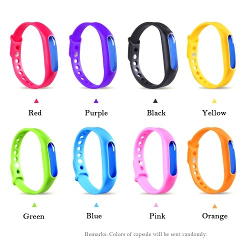 Anti Mosquito Bracelet Waterproof Pest Insect Repellent Wristband