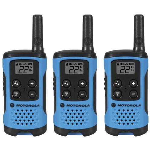 Motorola Talkabout 100 Rádio bidirecional - 7 x FRS, 8 x GMRS, 7 x GMRS / FRS, UHF - 84480 ft 16MILE RANGE AAA