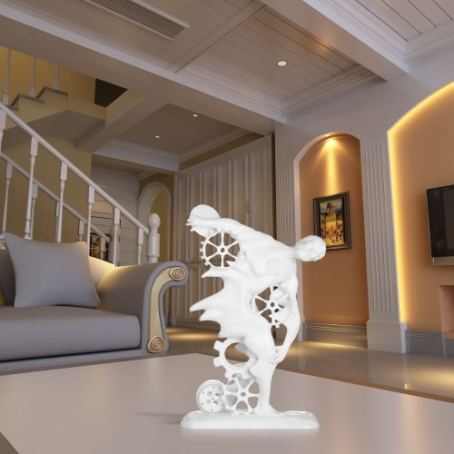 Discobolus Seneca 3D Printed Sculpture Home Decoration Tomfeel