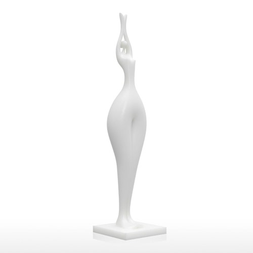 Stretch Beauty 3D Printed Sculpture Home Decoration Elegant Model
