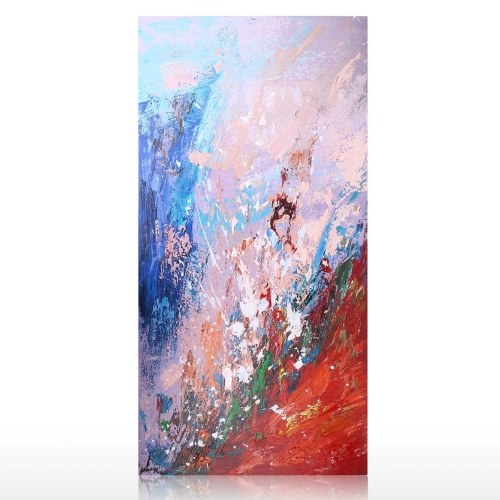 Tooarts| Wall Art Oil Painting 100% Hand Painted Abstract Themed Natural Scenery Art Decor on Canvas Modern Art Pictures for Home Living Room Bedroom Office Well Package Perfect Gift