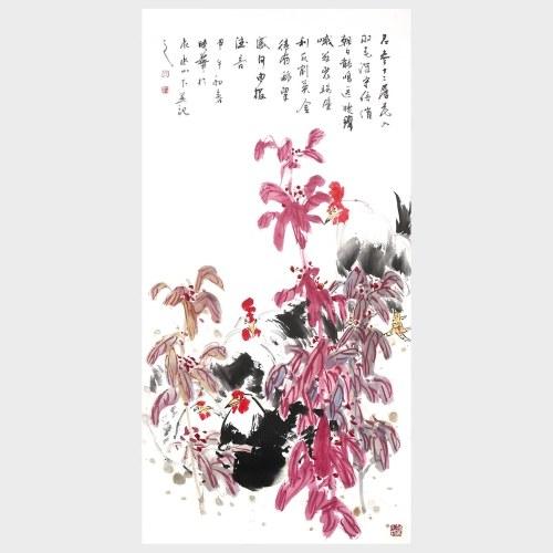 Composition dans le mur de fleurs Art peinture photos de fleurs pour la décoration murale maison salon 100% pié