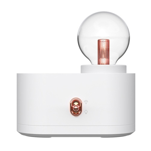 Mini humidificador USB 350 ml de capacidad Purificador de aire silencioso 2 modos de pulverización con LED Humidificadores de lámpara nocturna para viajes de oficina en casa