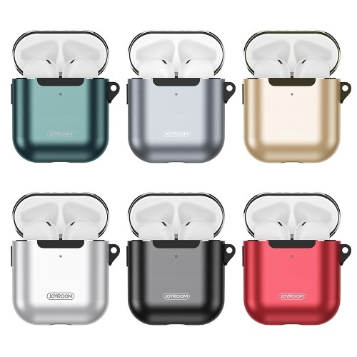 JOYROOM Storage Protective Case Wire-less BT Earphone Case Shockproof Headset Charging Case Compatible with AirPods 1/AirPods 2