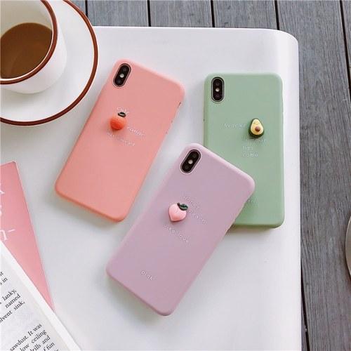 Подходит для трехмерного фруктового мобильного телефона. фото