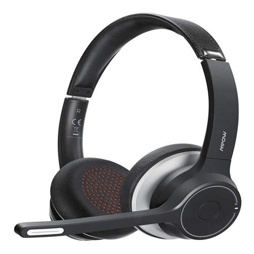 Mpow HC5 BT5.0 CVC8.0 Redução de ruído 22H Voz Jogos de Negócios Laptop Celular Tablet Headset