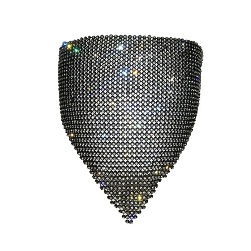 Rhinestone Sequin Face Cover
