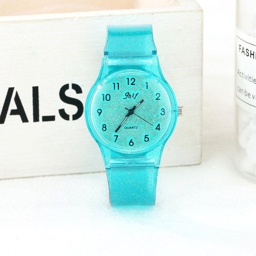 Fashionable Simple Casual Unique Quartz Women Watch Wristwatch for Students Teen Girls Students