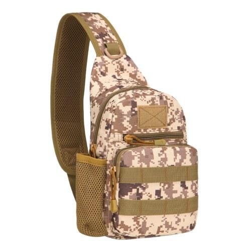 Water-resistant Oxford Sling Bag Crossbody Backpack Image