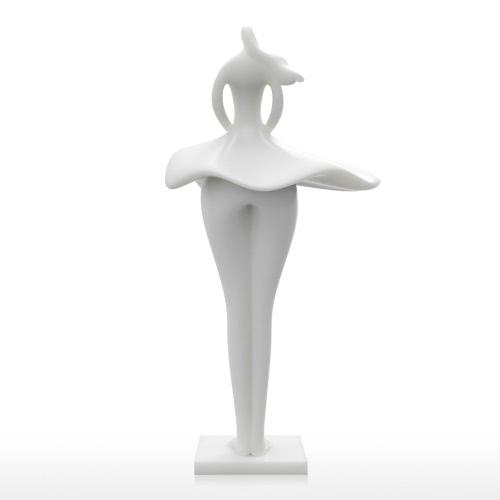 Юбка девушки Tomfeel 3D Печатный Скульптура Домашнее украшение Элегантная модель