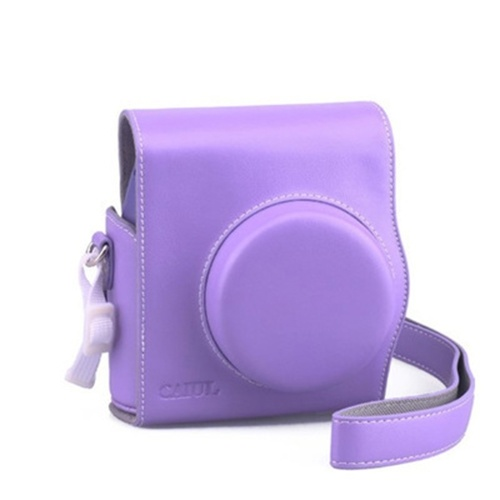 PU Leather Bag Case Cover Pouch Protector Carrying Case Print Digital Camera Gadgets