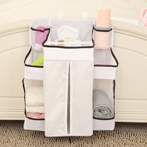 Baby multi-function hanging diaper storage bag