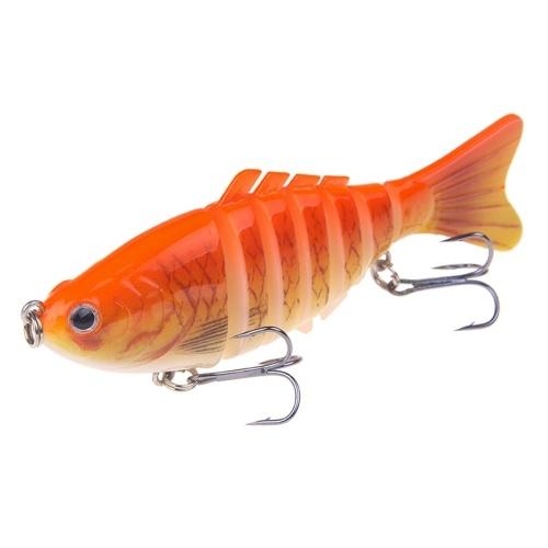 Señuelos de pesca de 100 mm cebo biónico articulado